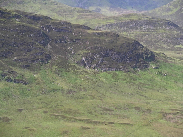 Sron Mor h'Ulamhaidh - NE ridge
