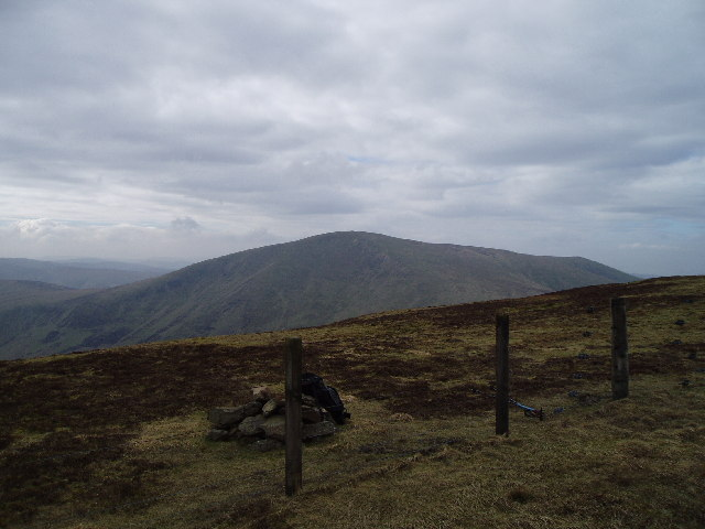 The summit of Chapelgill Hill