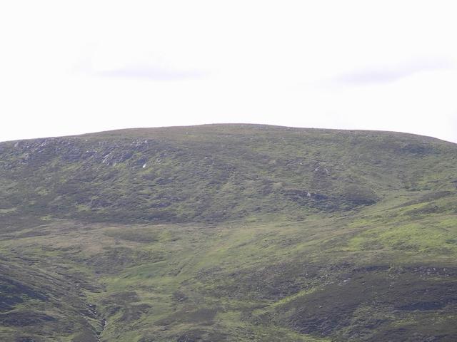 Eastern slopes of Mullach Sron na h-Uamhaidh