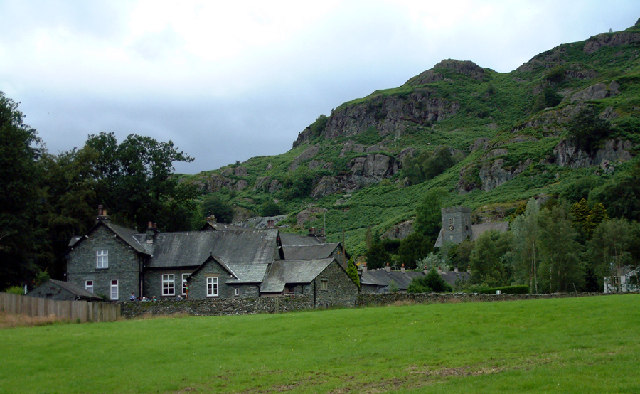 School and Church in Chapel Stile