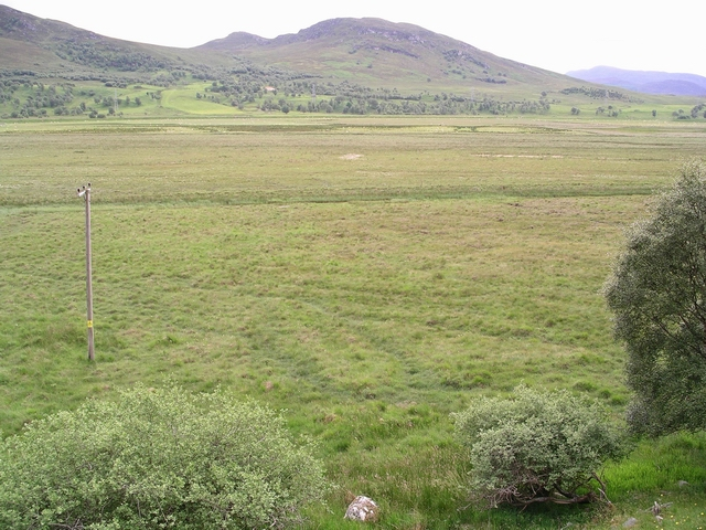 Flood plain, R. Spey