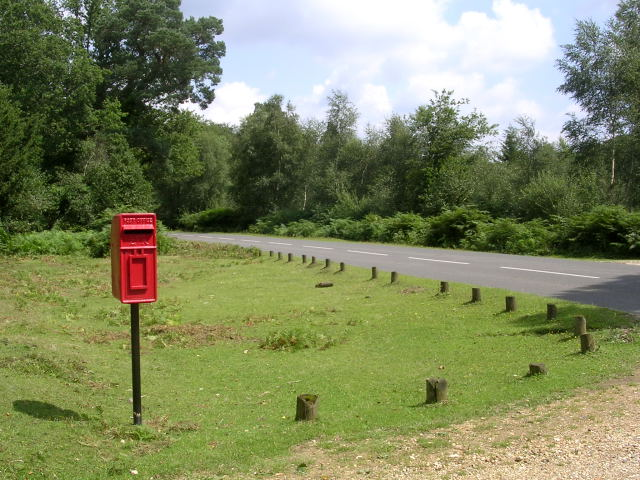 Postbox at Southmead Cottage, near Burley, New Forest