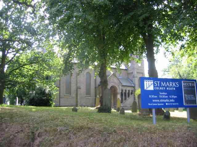 St Marks Church Colney Heath