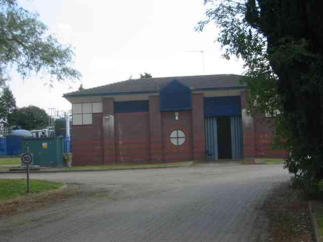 Pumping Station at Colney Heath