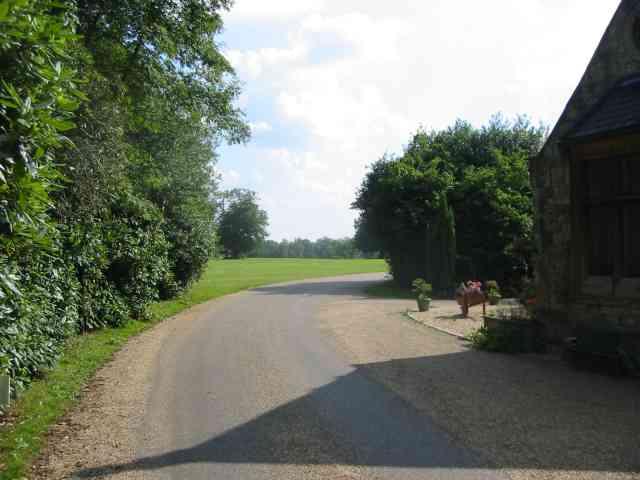 Entrance driveway to Wrotham Hall