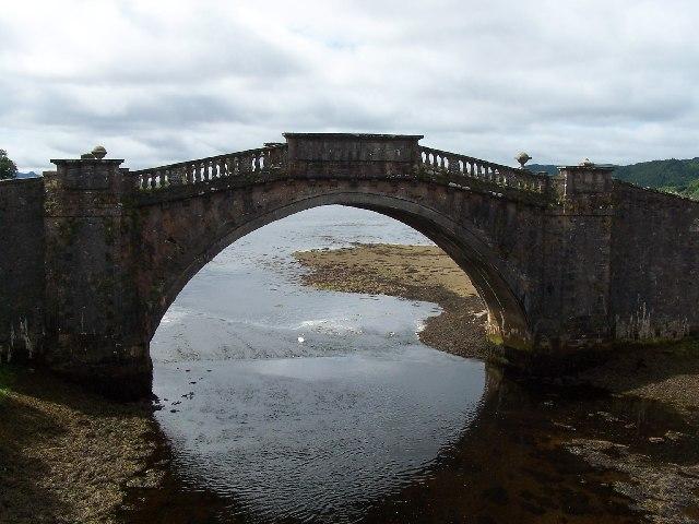 Garron Bridge, River Shira