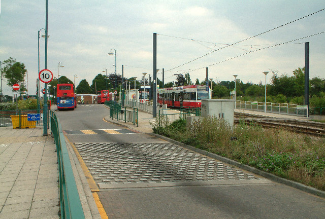Addington Village bus & tram station