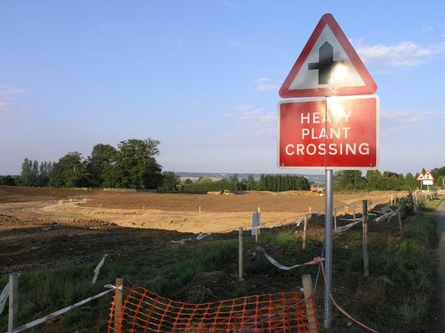 Leybourne & West Malling Bybass - new roundabout