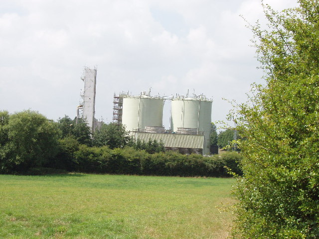 Gas works at Thame