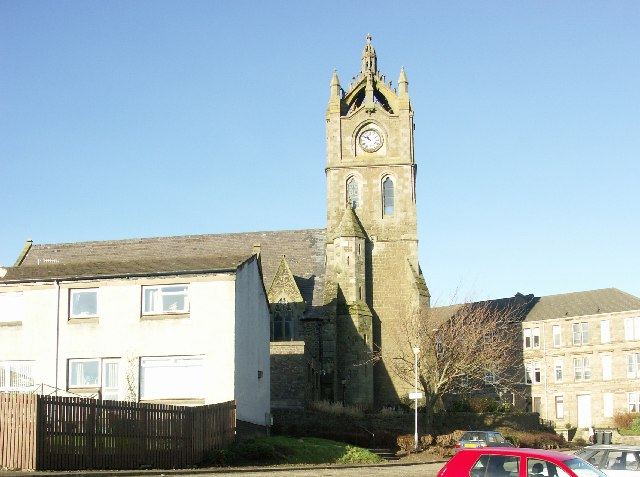 St John's Church in Gourock