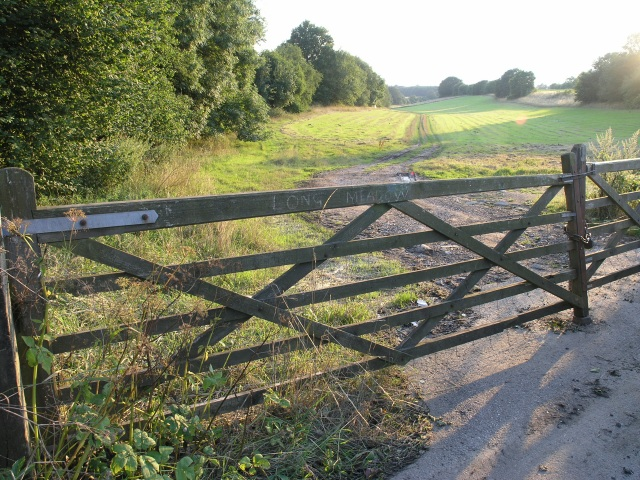 Gateway to Long Meadow, near Offham