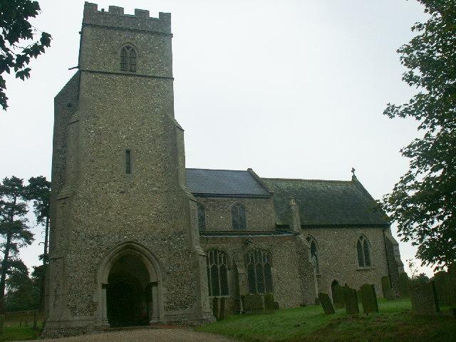 St Andrew's Church, West Bradenham