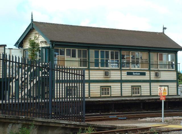 Barnham signal Box