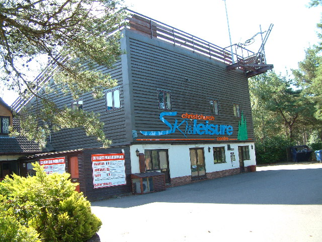 Ski Centre, south of Ringwood