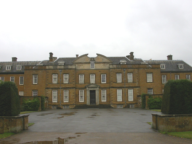 North Front of Upton House