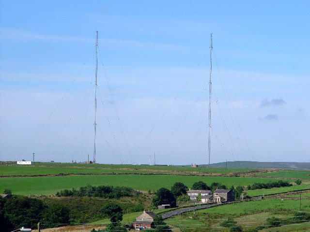 Moorside Edge Transmitter Masts