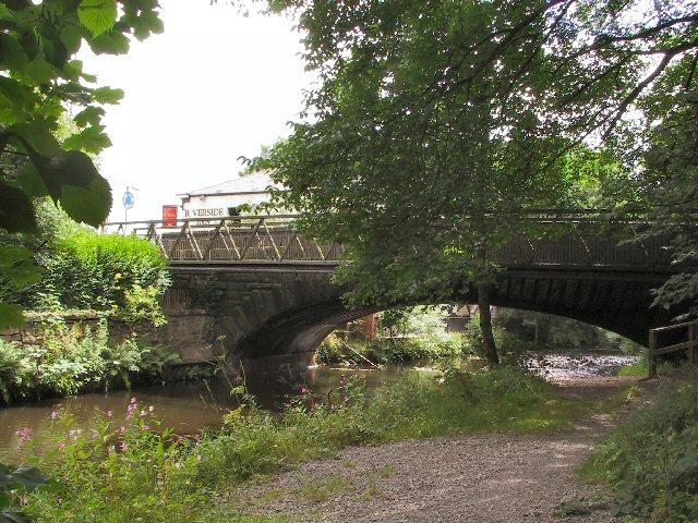 River Etherow, below Woolley Bridge