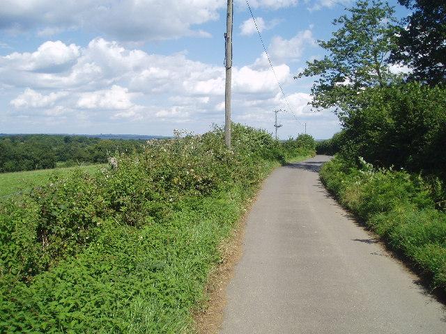 Clearwater Lane looking East