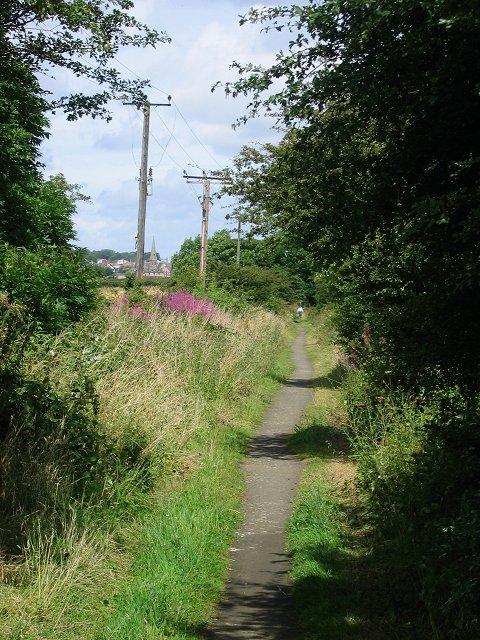 Disused railway, Newbridge.