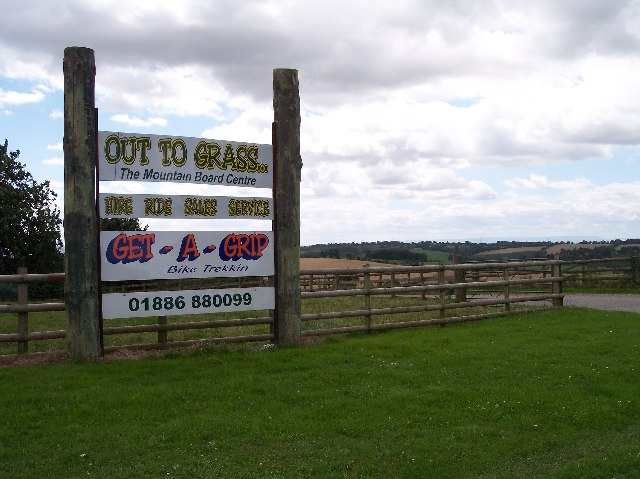 Diversification - the entrance to Woodend Farm