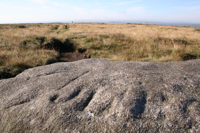 Carved stone, High Brown Knoll