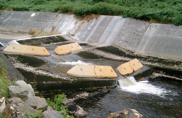 Weir on the River Dunsop