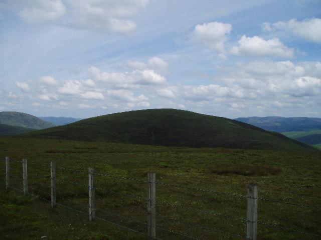 The summit of Hillshaw Head
