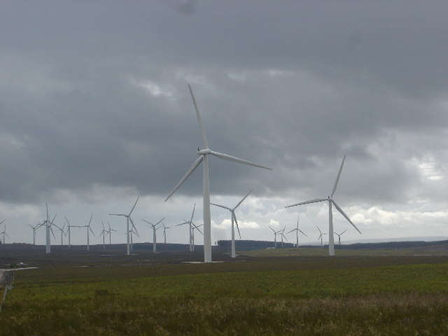 Black Law Wind Farm S Lanarkshire