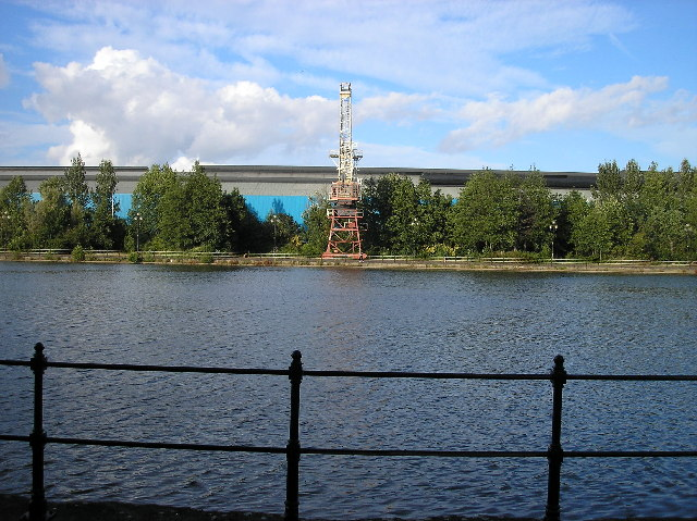 The only dock crane left