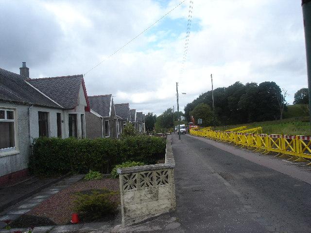 Climpy village S Lanarkshire