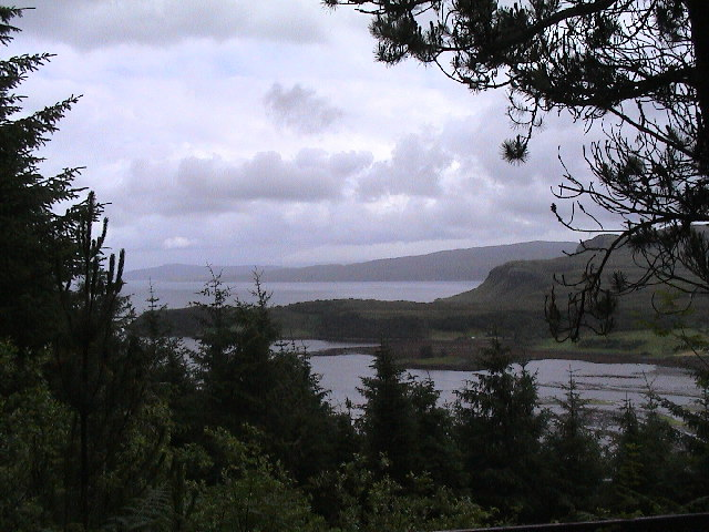 Raasay from viewpoint above the Aros Experience