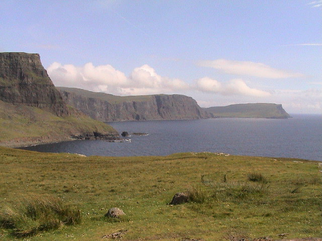 View looking east from path to Neist Point.