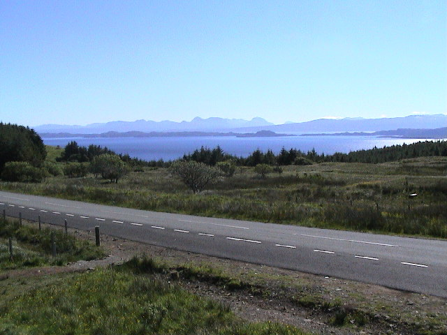 View to Isle of Rona and mainland