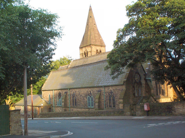 St Barnabas Church, Heaton