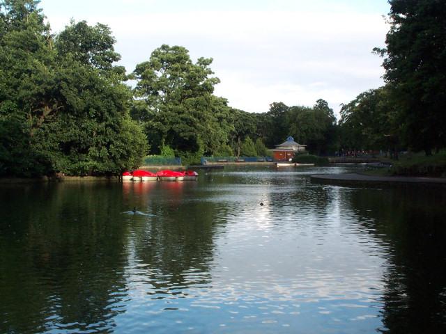 Lister Park lake