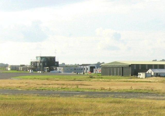 Swansea Airport on Fairwood Common