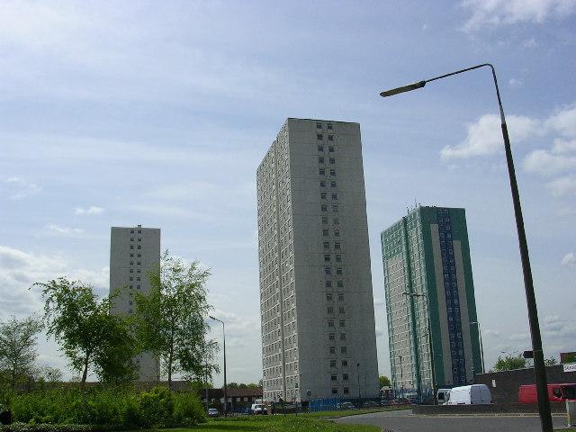 High Rise Flats, Pendleton, Salford