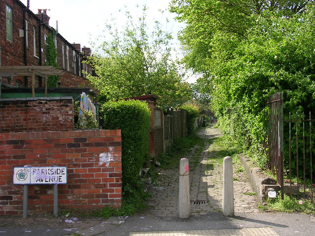 Back Entry, Patricroft, Eccles