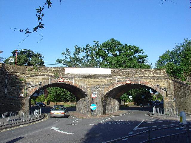 Thames Ditton Railway bridges
