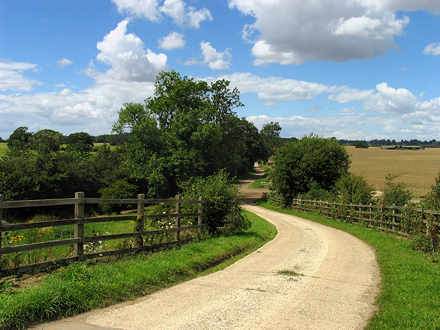 Oareborough Lane and Farmland: Oare