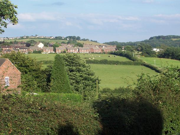 A view across the south of Audley
