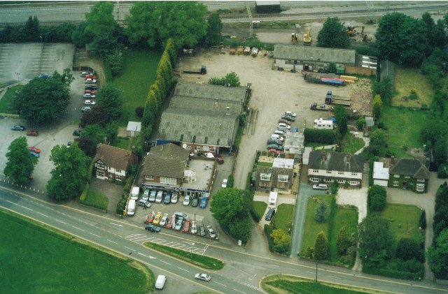 Aerial View of Milford, near Stafford