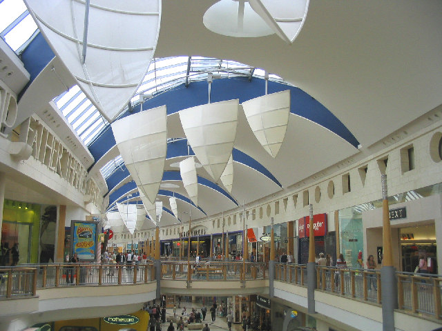 'Thames Walk', Bluewater Shopping Centre, Dartford, Kent