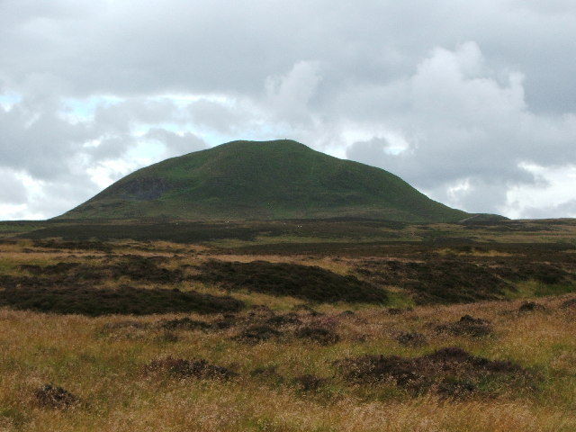 West Lomond from the access path