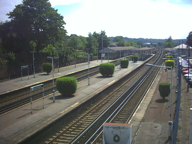 South Croydon Station, off St. Peter's Road.