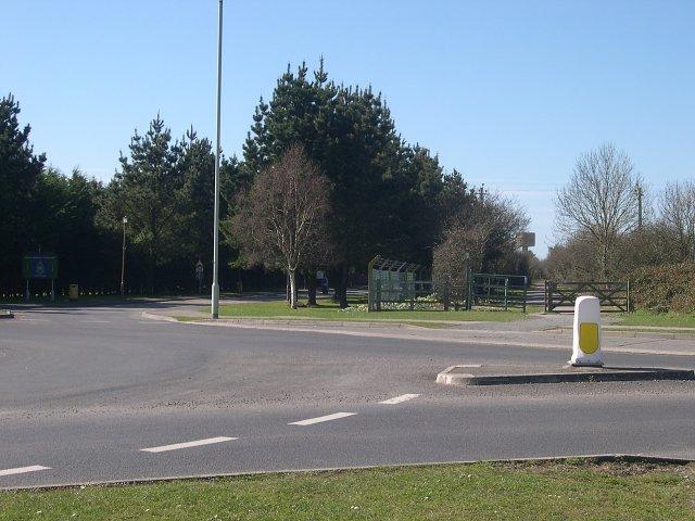 Entrance to RAF Chivenor