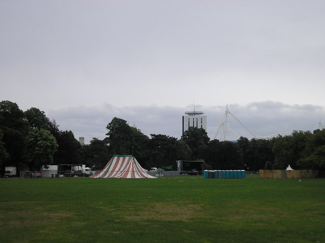 Coopers field, Cardiff