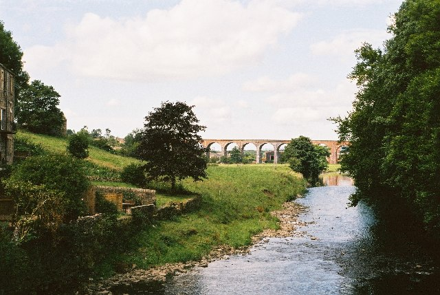 Viaduct from Whalley Bridge