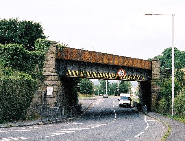Langho railway bridge