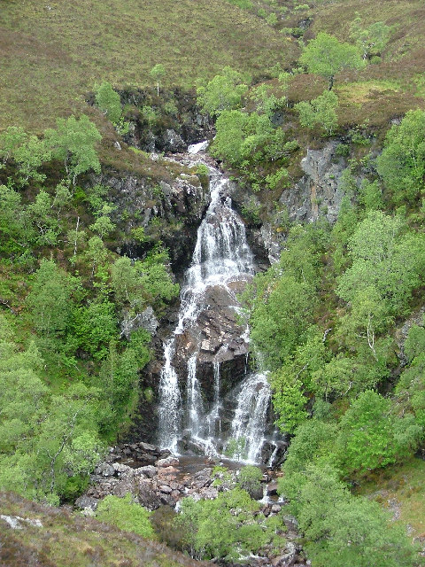 Waterfall, Glen Golly, Sutherland